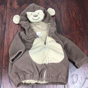 Carter's 6-9 month monkey halloween costume